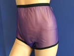 50/60er Nylon Panty PIN UP HÖSCHEN 100% Nylon Lila