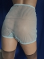 Preview: Retro Style Blue Sexy Sheer Nylon Panty