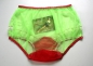 Preview: Pin-Up Style Neon Green Sexy Nylon Sissi Panty