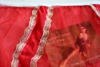 Pin Up Style Red Sissy Nylon Panty XL