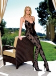 Leg Avenue 8456 Rose Bud Lace Bodystocking