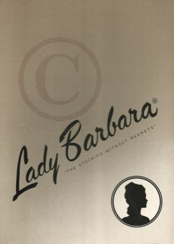 Lady Barbara Vintage Nylon Stockings Samba 11 XL