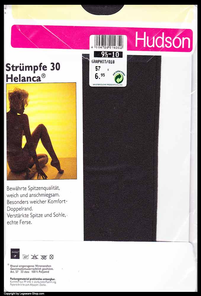 acfc18bf0ef414 Hudson Helanca 30 Den Strümpfe Gr. 9,5-10 - Legsware-Shop