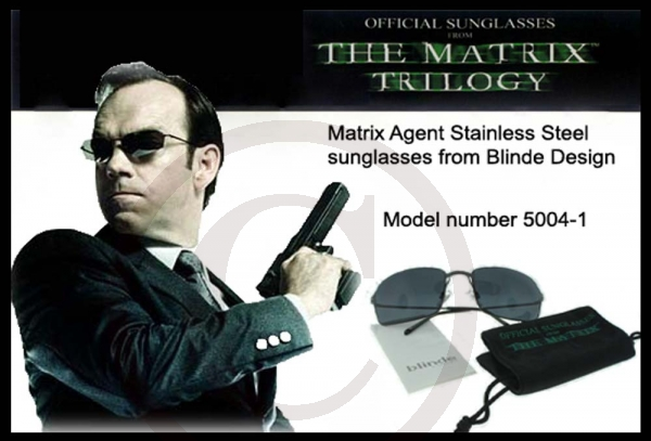 23a1b33a585 BLINDE SPECIAL MOVIE EDITION SUNGLASSES AGENT - Legsware-Shop