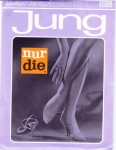 Nur Die Seamless Stockings Sz 10,5 XXL